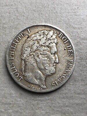5 Francs Louis Philippe I 1845A