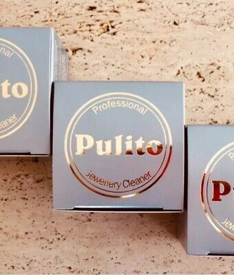 5 X Pulito Professional Jewellery Cleaning Cloth