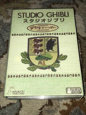Rare 18 Movie Miyazaki Films / Studio Ghibli Collection Region Free DVD Box Set