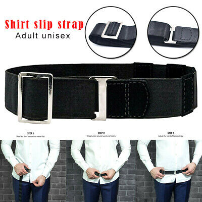 Shirt Holder Belt Adjustable Shirt Stay Best Belt for Women Men Work Interview