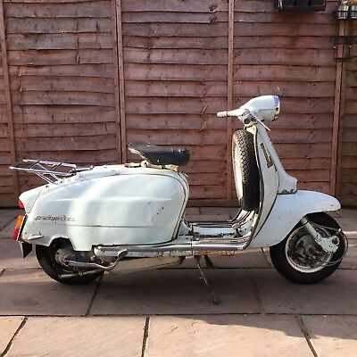 Original 60's Lambretta Rack