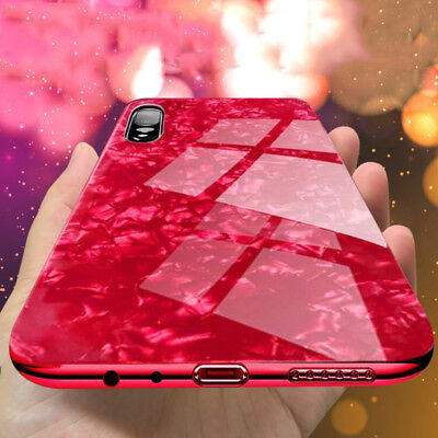Luxury Marble Tempered Glass Case Cover For Huawei Mate 20 P20 PRO LITE P9 P10