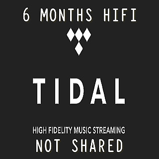 TIDAL Hi-Fi 6 Months Guaranteed - INSTANT DELIVERY
