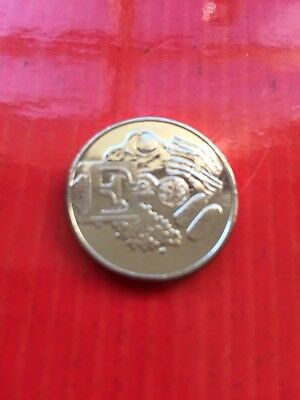 10p Coin The Letter E English Breakfast Uncirculated From a Sealed Bag