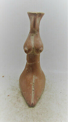 Early Indus Valley Harappan Terracotta Fertility Figure Mother Goddess