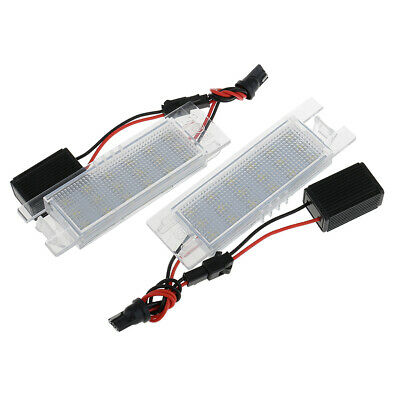 2X LED License Plate Lights for Vauxhall / Opel Zafira B(2005-2011)