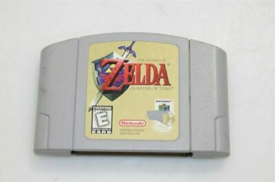 Legend of Zelda Ocarina Of Time Nintendo 64 Cartridge Game