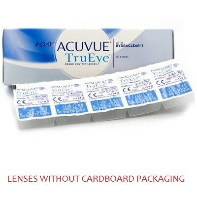 1 Day Acuvue TruEye 1x30pk lenses (WITHOUT CARDBOARD PACKAGING)