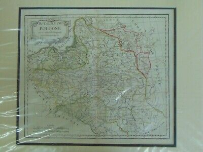 Poland, Royaume de Pologne, Robert de Vaugondy. 1750 CA, Map