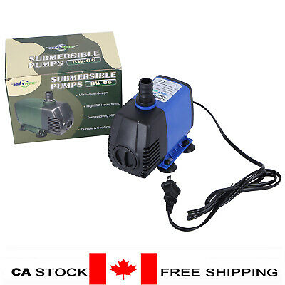115V Submersible Water Pump 32W Fish Tank Pond Fountain Fall Hydroponic (Blue)