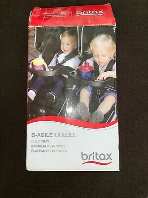 Britax B-Agile Double Stroller Child Snack Tray, NWOT , BABY,