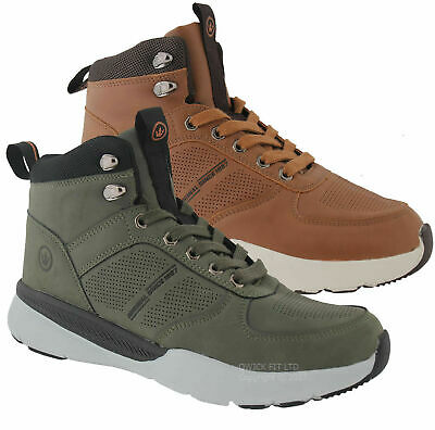 Mens Waterproof Walking Hiking Trekking Trail Comfy Rambling Ankle Boots Shoes