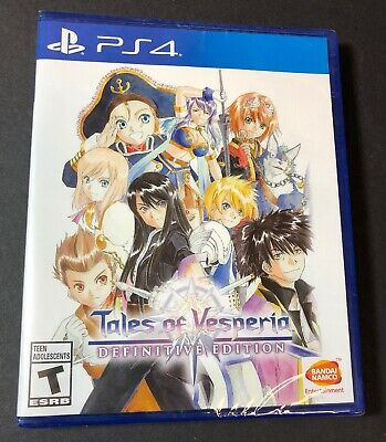 Tales of Vesperia [ Definitive Edition ] (PS4) NEW
