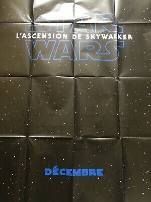 Affiche 120x160 Neuve Preventive « Star Wars 9 »/L'ascension De Skywalker