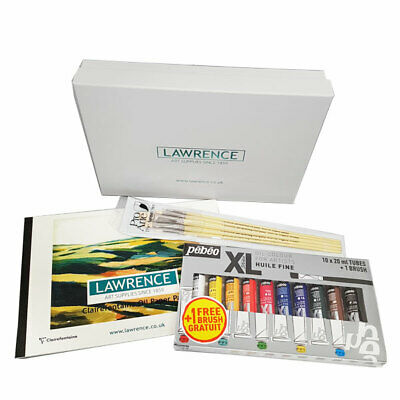 Lawrence Oil Painting Starter Set in Gift Box - Perfect for Beginners