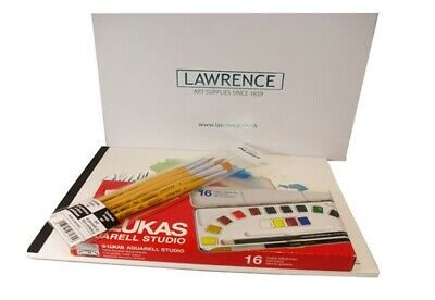 Lawrence Watercolour Painting Starter Set in Gift Box - Perfect for Beginners