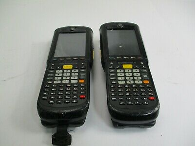 (Lot of 2) Motorola MC9598-KDBEAB00100 Handheld Barcode Scanner Untested AS-IS