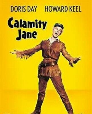 Calamity Jane ~ RARE Classic Western Comedy DVD ~ 1953 ~ Doris Day ~ Howard Keel