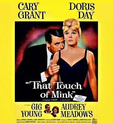 That Touch of Mink ~ RARE Classic Comedy DVD ~ 1962 ~ Doris Day ~ Cary Grant