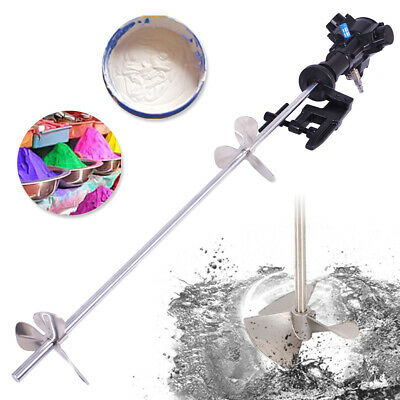 NEW 50 Gallon Automatic Pneumatic Mixer With Stand Paint Coating Mix Tool