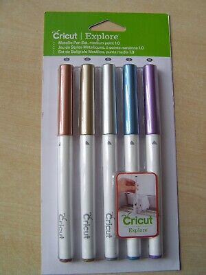 Cricut  - Pen Set - Metallic -  Medium Point 1.0