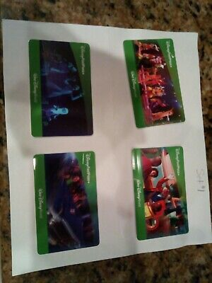 Four (4) Walt Disney World (1)One Day Park Hopper Tickets