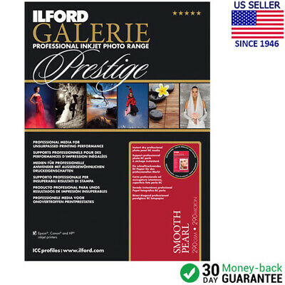 """Ilford GALERIE Prestige Smooth Pearl Paper 13 x 19"""" - 25 Sheets (2001750)"""