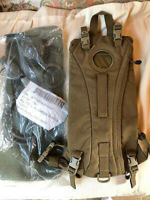 """Usmc Tactical Hydration Carrier 3 Liter  Coyote Brown 1753 """"New"""""""
