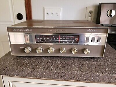 Vintage The Voice Of Music Stereo Amplifier Receiver Model 1484-1
