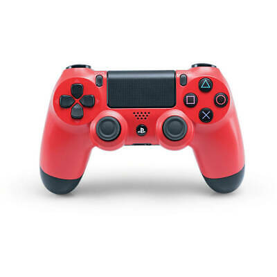 Official PlayStation 4 Dualshock 4 Wireless Controller - Magma Red