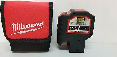 Milwaukee C12 Bl2 12V 2-Beam Plumb Dot Laser Level, Bare Tool