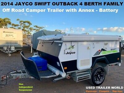 2014 Jayco Swift Outback. 4 Berth. Off Road Camper Trailer. Excellent condition!