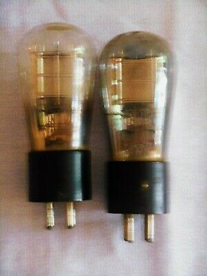 + Pair - Type 226 Triode Vacuum Tube - Very Strong +
