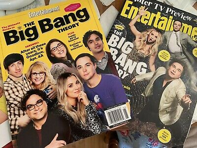 Entertainment Weekly Guide to the Big Bang Theory Collector's Edition & BONUS 2