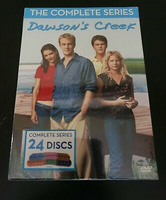 Dawsons Creek: The Complete Series DVD, 2011, 24-Disc Set Brand New Free S&H SH3