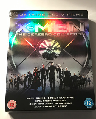 Blu-ray X Men - The Cerebro Collection (7 Blu-Ray)