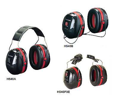 7aaa84bfc PELTOR OPTIME III H540P3E Clip-On Ear Defenders Hearing Protection ...