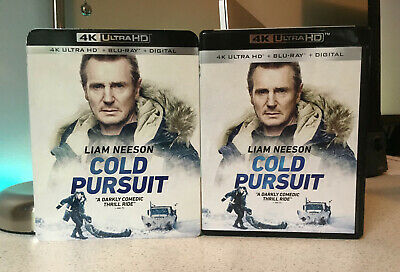 Cold Pursuit 4K Ultra+Blu-Ray, with Slip Cover, NO Digital Code