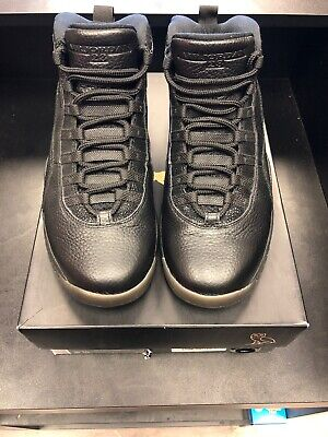 09e78488b84 Nike Air Jordan 10 Retro OVO Black 819955-030 Size 10.5 Mens Drake