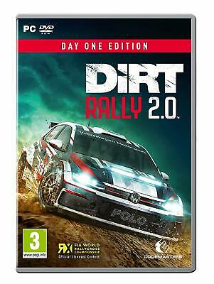 Dirt Rally 2.0 PC - Italiano Originale Completo - DR 2019 Codemasters