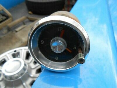 1961 1962 Chevy Impala Belair Biscayne SS Clock core non working BORG GM