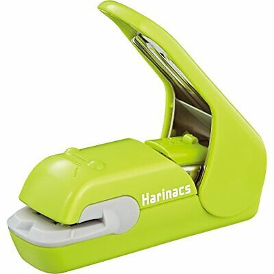Kokuyo Harinacs Press Stapleless Stapler SLN-MPH105G Green from Japan 191369
