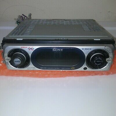 sony car stereo model number cdx-ca700x fm/am compact disc player not tested
