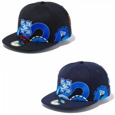 NEW ERA × HITOTZUKI 59FIFTY Cap Hat Fitted HTZK CLASSIC Art Graphic KAMI SASU