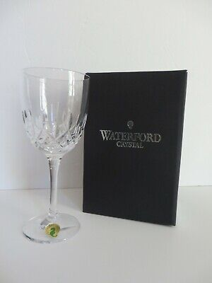 "New Waterford Crystal Lismore Encore White Wine Glass 156179.  7"" Tall  NIB"