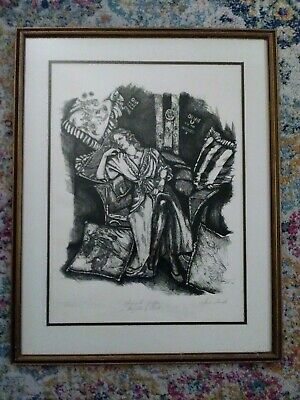 """Maria Laredo Limited Edition Print. """"Marguerite Griffin"""" 167/750. Artist Signed"""