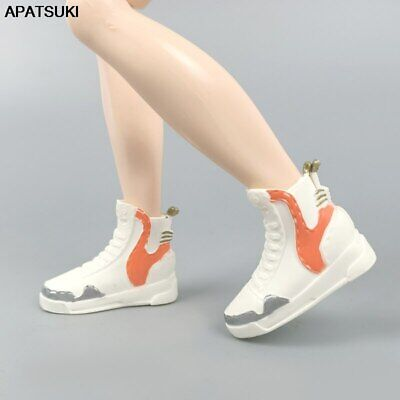 Yellow Fashion Doll Shoes For Ken Boy Doll Accessories Business Shoes 1/6 Dolls