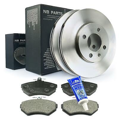 Fiat Ducato 1.9 Diesel Front Grooved Drilled Brake Discs