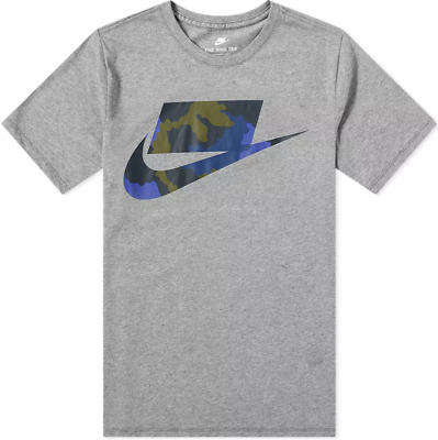 85d98e2a7 *NEW* Nike Sportswear NSW Men's Camo Fill Futura T-Shirt AQ5320 091 Sz