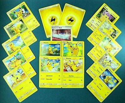 🌟PIKACHU MASTERPIECE COLLECTION🌟 Detective Pokemon 11 Card Set + 2 Holos EEVEE